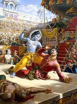 Krishna Kecil Membunuh Kamsa
