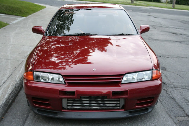 R32 Nissan Skyline GTR Red Nismo