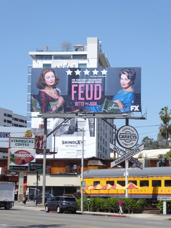 Feud Emmy FYC billboard