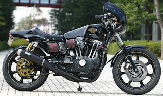 harley xlcr style by sundance on xr 1000 side right
