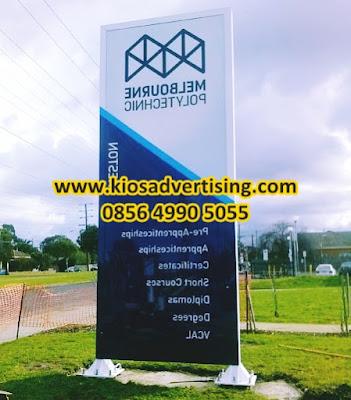 Jasa Pembuatan Pylon Sign di Malang dan Blitar