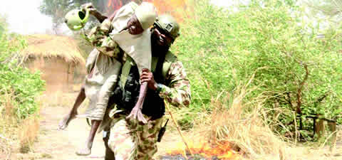 Good Soldiers Rescue Old Man From Boko Haram