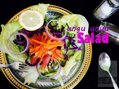 salad kol ungu