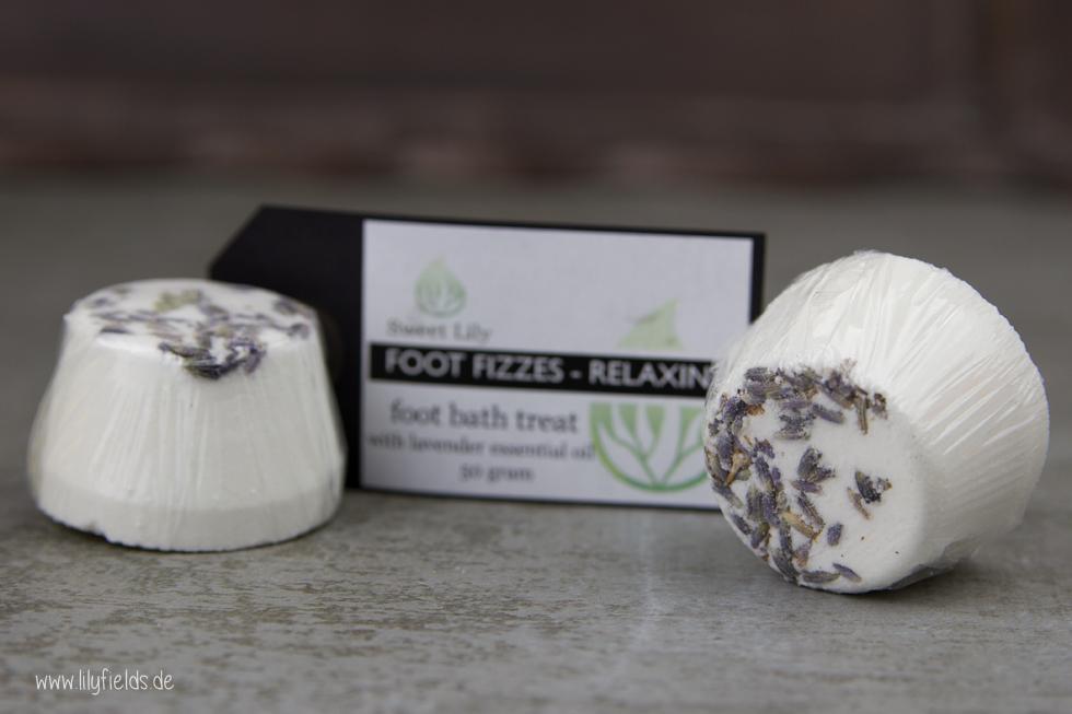 Sweet Lily - Foot Fizzes 'Relaxing' (Foot Bath Treat)