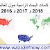 اكثر المواضيع بحثا على الانترنت 2018 و 2017 و 2016