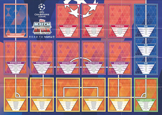 Uefa Calendrier 2020.Football Cartophilic Info Exchange Topps Uefa Champions