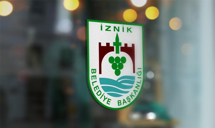 Bursa İznik Belediyesi Vektörel Logosu