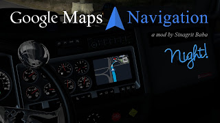 ATS - Google Maps Navigation Night Version