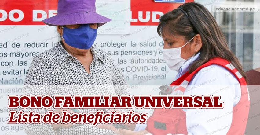 BONO FAMILIAR UNIVERSAL: Lista de beneficiarios y página web estará lista entre el 8 y 10 de mayo, informó la Ministra Ariela Luna, del MIDIS [VIDEO]