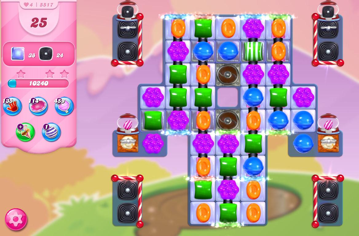 Candy Crush Saga level 5517