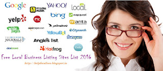 Local Business Listing Sites List 2016