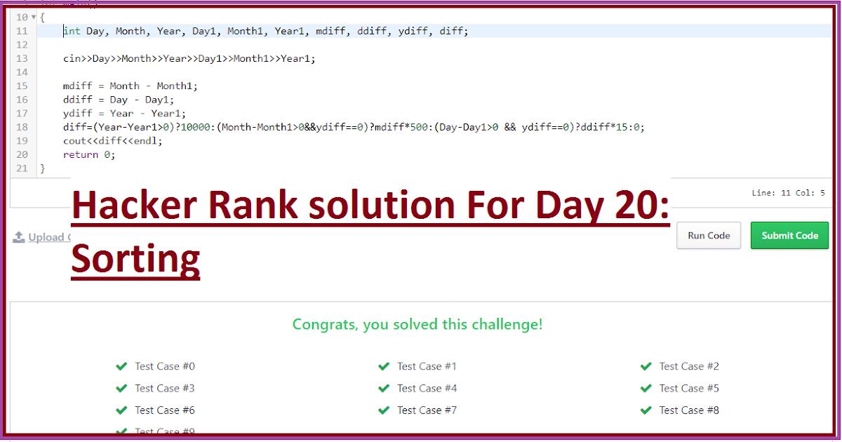 programming challenges solutions c++ code