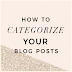 how to make categories in blogspot and write article (Part 3)