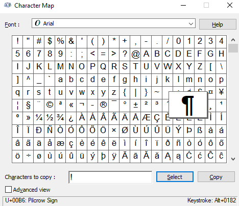 How To Make Symbols With Computer Keyboard