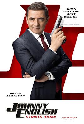 Johnny English Strikes Again Poster