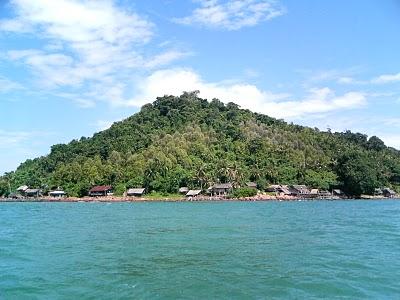 Cengkeh di Pulau Kabung