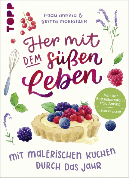 Backbuch mit Illustrationen