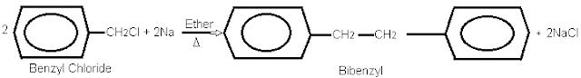 Benzyl Chloride Wurtz Reaction.