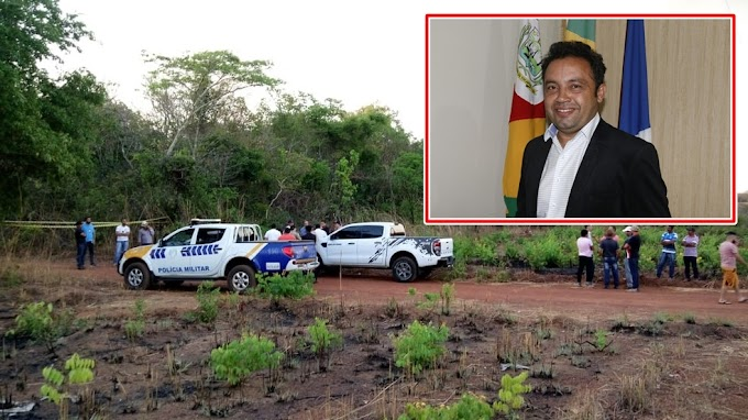 Prefeito é encontrado morto dentro do próprio carro com tiro na cabeça.