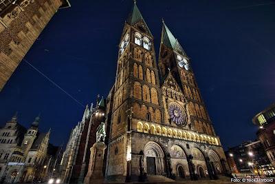 St. Petri Dom Bremen bei Nacht, Bremen erleben