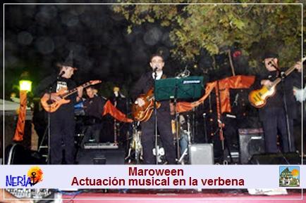En Maroween, podrá disfrutar de actuaciones musicales en directo y de grupos de baile