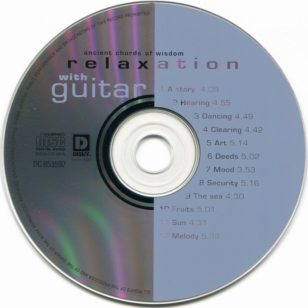 guitar easy listening johan onvlee relaxation with guitar 1998 flac. Black Bedroom Furniture Sets. Home Design Ideas