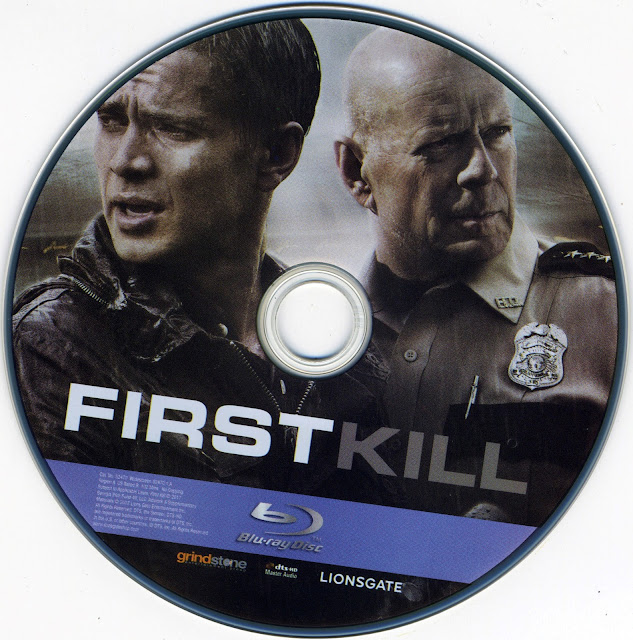 First Kill Bluray Label