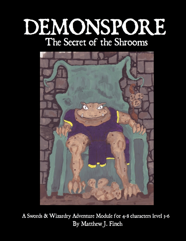 Cover of Demonspore: The Secret of the Shrooms