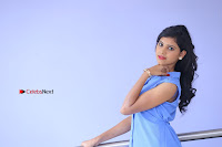 Telugu Actress Mounika UHD Stills in Blue Short Dress at Tik Tak Telugu Movie Audio Launch .COM 0026.JPG