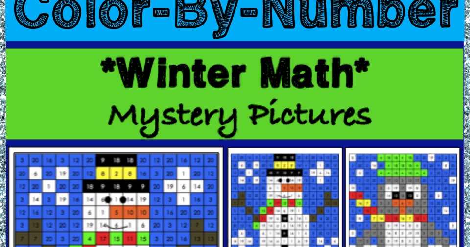 the best of teacher entrepreneurs winter math color by number activities 4th grade. Black Bedroom Furniture Sets. Home Design Ideas