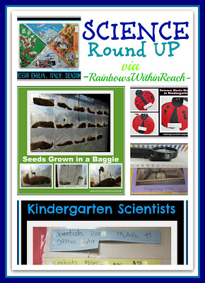 Science for Young Children, Preschool + Kindergarten Experiments (RoundUP via RainbowsWIthinReach)