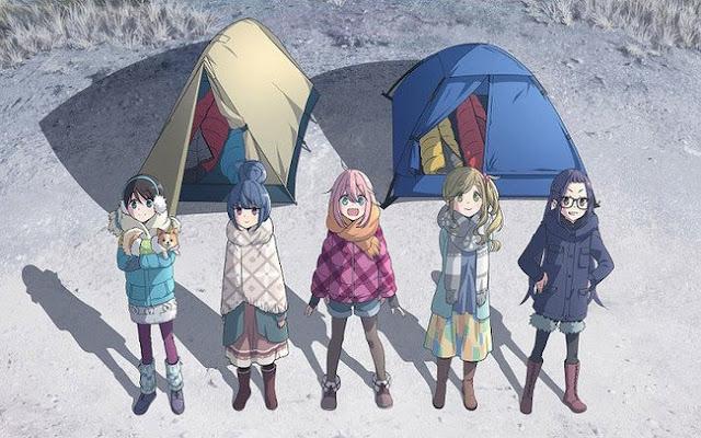 Yurucamp TV Anime