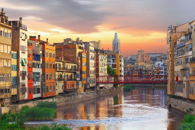 Girona na Catalunha