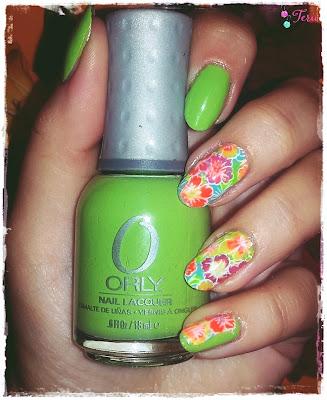 Orly Green Apple i Żar Tropików