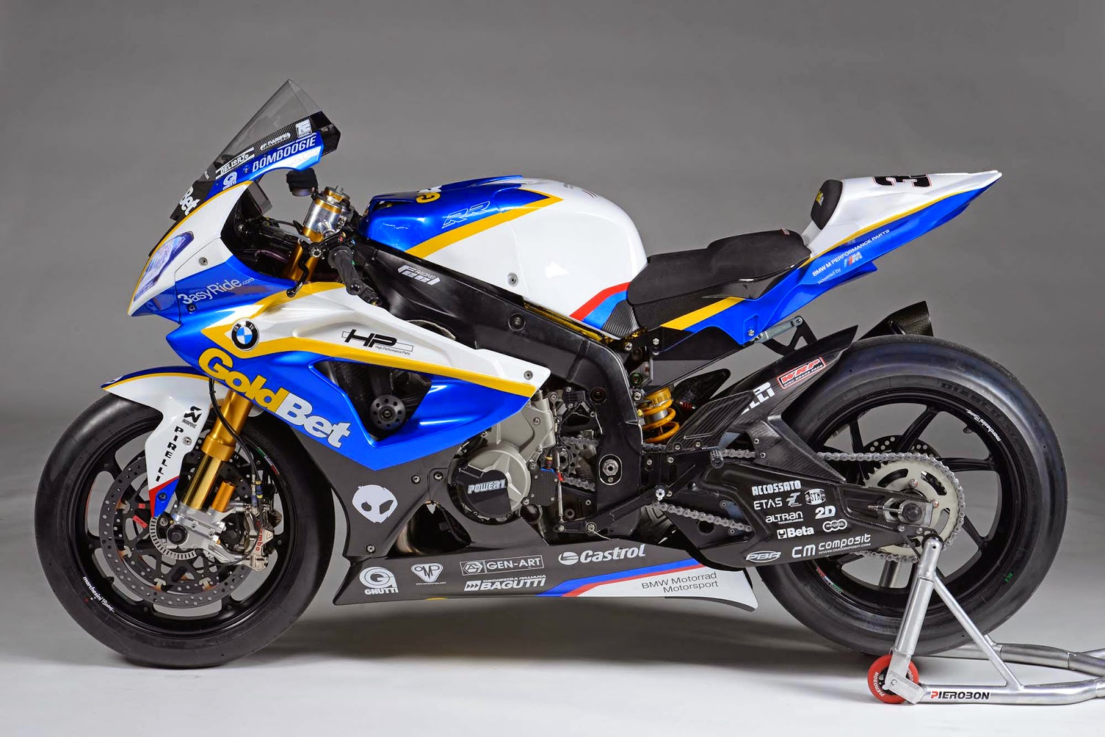 SBK Motoworks: S1000RR/HP4 Race Fairing - with painting