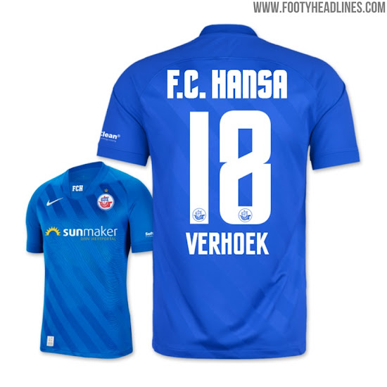 Based On The New Chelsea Template Unique Nike Hansa Rostock 20 21 Home Away Kits Released Footy Headlines