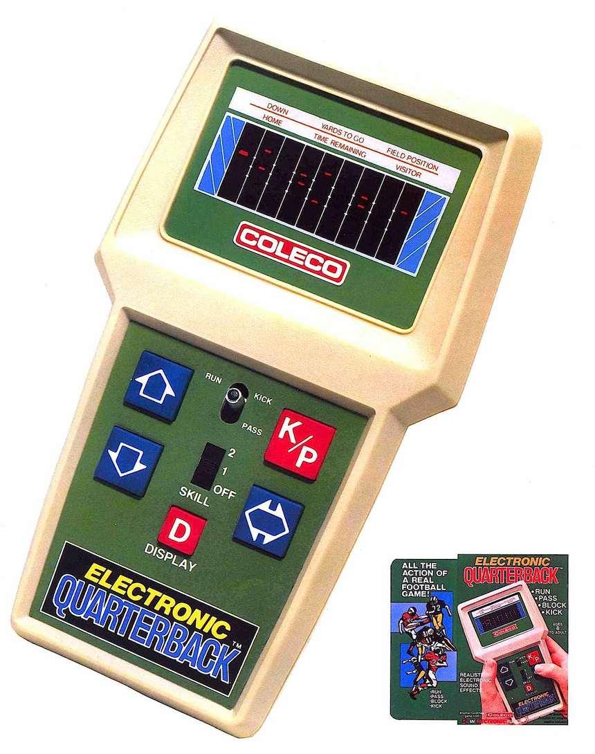 Coleco 1980, Electronic Quarterback