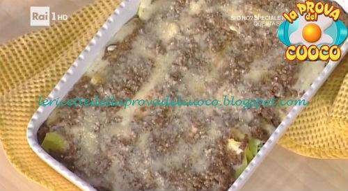 Cannelloni gratinati ricetta Spisni da Prova del Cuoco