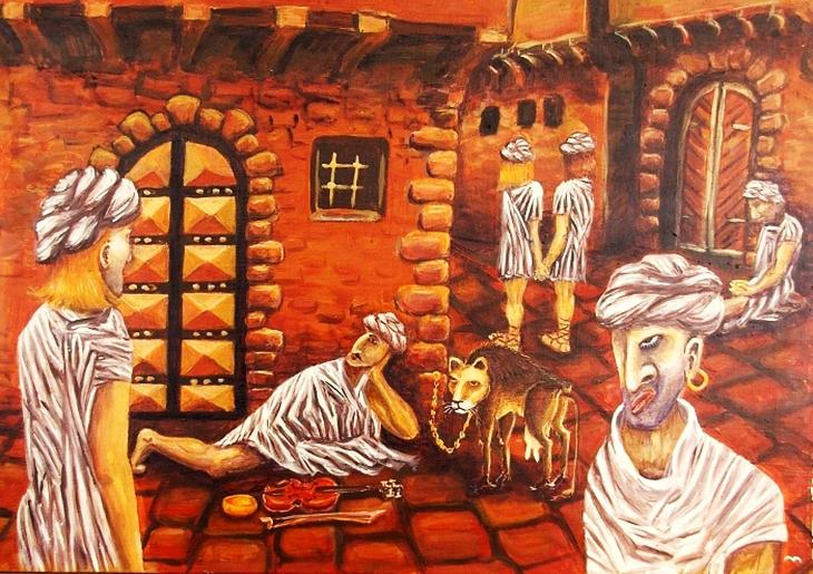 Arap mitolojisi, Nasnas cinleri, Shiqq cinleri, Nasnas ve Shiqq, Arap mitolojisinde cinleri, mitoloji, Cinler, İnsanlarla ilişkiye giren cin, Shiqq cinlerinin çocukları Nasnaslar, A, Tek bacaklı cinler,