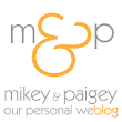 Mikey and Paigey: The tiniest update