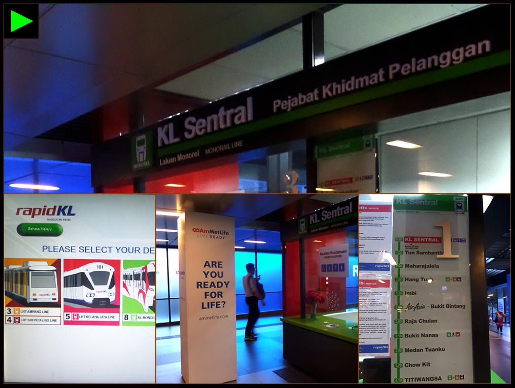 KL SENTRAL RAILWAY STATION