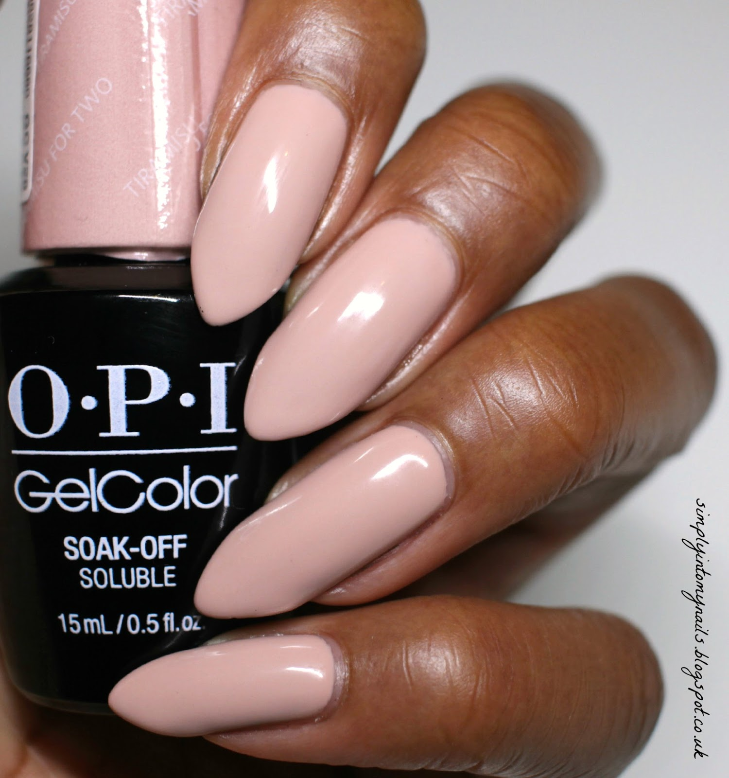 Gel Colors Jord Watch Manicure With Opi Gelcolor Tiramisu For Two