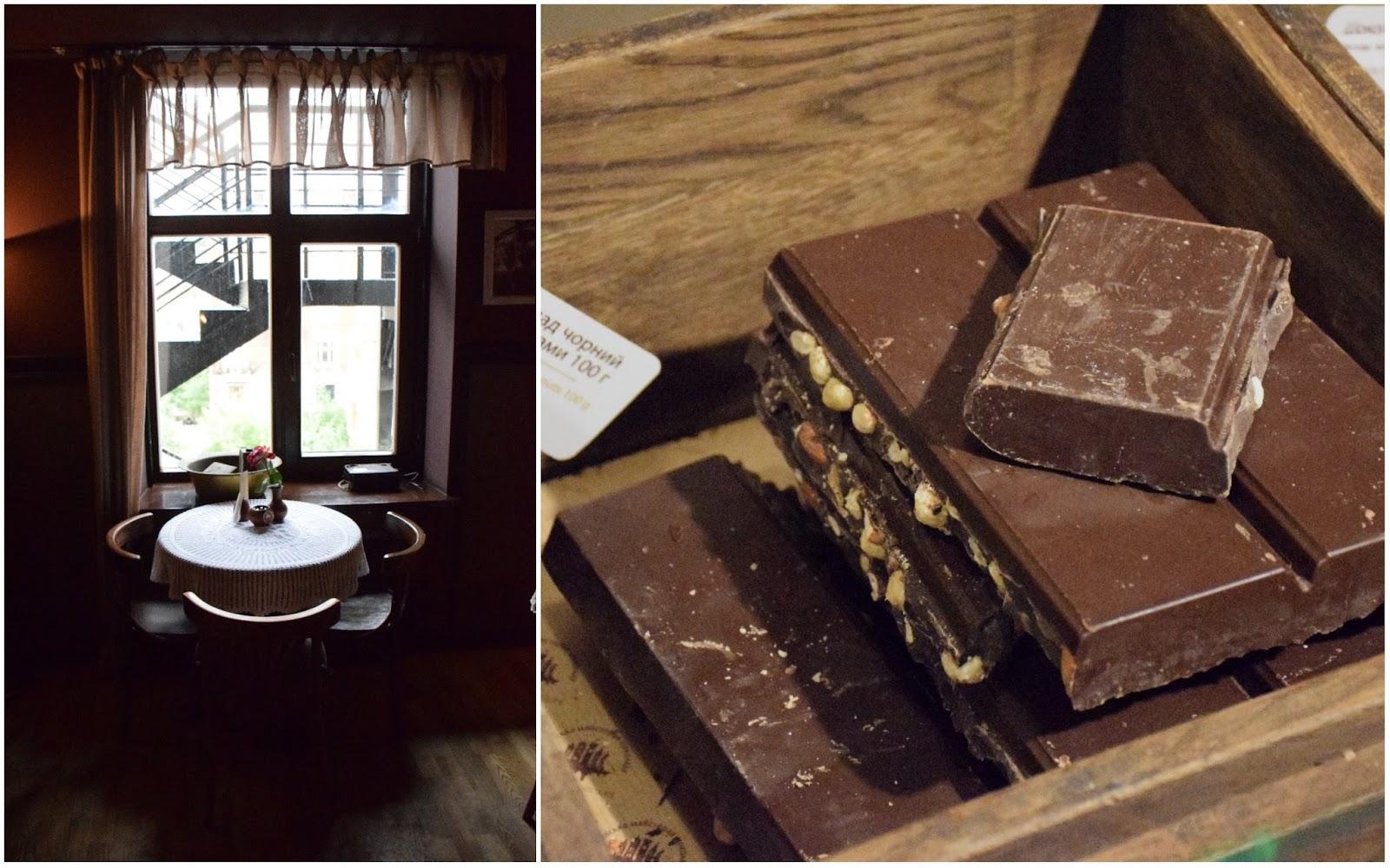 lwów manufaktura czekolady
