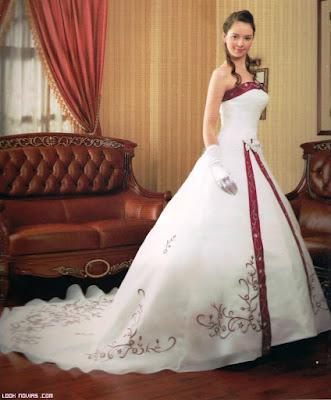 Vestidos de novia de colores