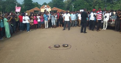 Drama as Angry Lecturers Shut Down MAPOLY Over Alleged Sack of 250 Members