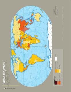 Apoyo Primaria Atlas de Geografía del Mundo 5to. Grado Capítulo 3 Lección 1 Dinámica de la Población