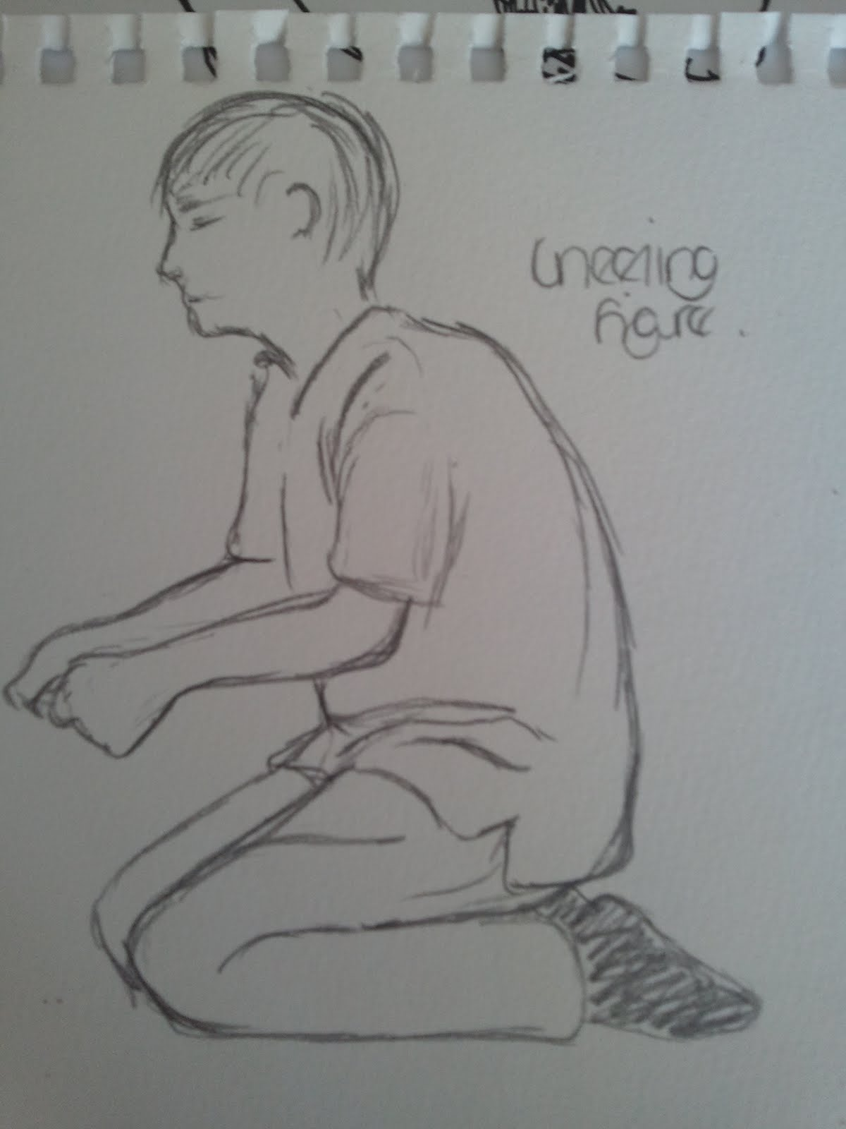 How To Draw A Person Kneeling : person, kneeling, Someone, Kneeling