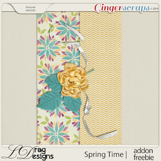 Creative Team for LDrag Designs -    Spring Time and Coordinating Freebie