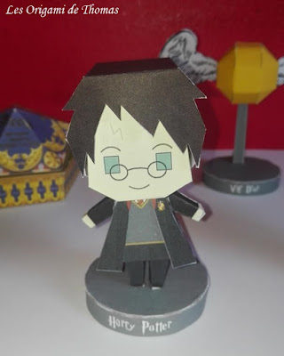 Harry Potter en papercraft origami