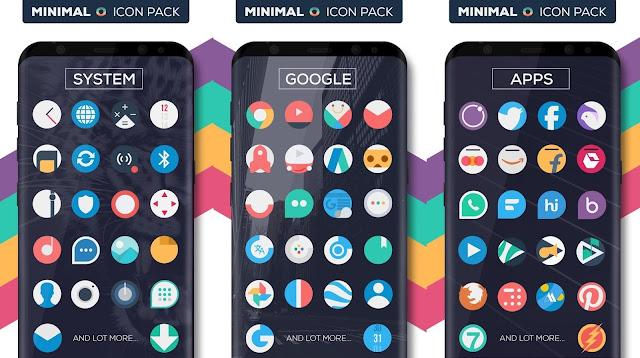 Minimal O - Icon Pack screen